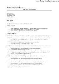 radiologic technologist resume sample resume x ray tech x ray tech