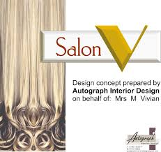 hair salon concept autograph interior design salon v design concept cover page