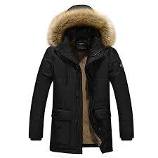 URBANFIND Men's Regular Fit <b>Winter Faux</b> Fur Hooded <b>Zipper</b> ...