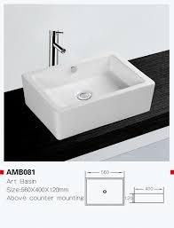China Amb081 <b>Hot Selling European</b> Standard Ceramic Art Basin ...