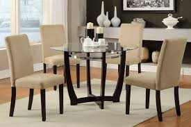 Glass Dining Room Tables Round Glass Top Kitchen Table Chairs Kitchen Furniture Dining Room