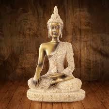Buddhism Decor For Buddha Tathagata Sculpture Thailand Yoga ...