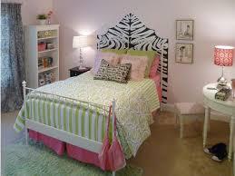bedroom incorporates zebra print