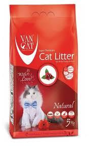 Комкующийся <b>наполнитель Van Cat Natural</b> 5 кг — купить по ...