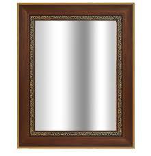 <b>Зеркало в багетной раме</b> CLASSIC 40х50см,коричненый/золото ...