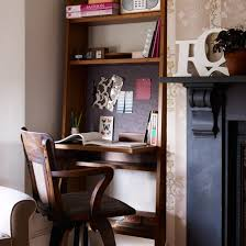 creating a work area in a corner is a great way to make use of otherwise under used space an alcove is ideal for this as it does not encroach too much on alcove office