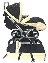 Everbright Deluxe Baby Stroller With Bassnet & Foot ... - Amazon.com