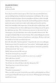 creative writing samples  benjamin zadik this short piece appeared in tank magazine