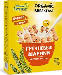 "<b>Компас Здоровья</b> ""Гречневые шарики"" <b>сухой</b> завтрак, 100 г ..."