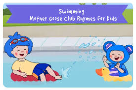 Swimming     Mother Goose Club Rhymes for Kids