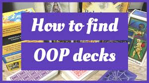 How to find out of print or <b>vintage tarot</b> decks - YouTube