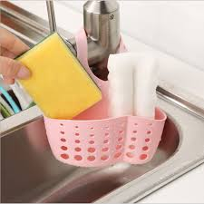 Sink Storage Basket <b>Sponge Holder</b> Bathroom Soap <b>Hanging</b> ...