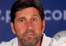 London, Sep 26 : Europe Ryder Cup captain Jose Maria Olazabal has said Rory McIlroy is playing almost as well as Tiger Woods in his prime. - jose-maria-olazabal