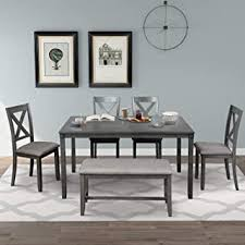 Kitchen & Dining Room Sets - 6 Pieces / Table ... - Amazon.com