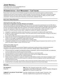 resume examples for military template military resume example