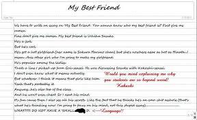 essay on my best friend for kids  children and studentsessay on my best friend in french essay    my bestfriend