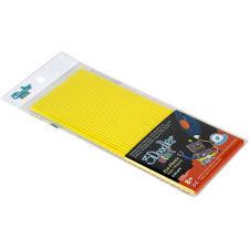 Эко-пластик к <b>3D</b> ручке 3DOODLER START, цвет желтый 24 шт ...