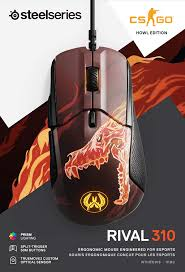 SteelSeries Rival 310 CS:GO Howl Edition Gaming ... - Amazon.com