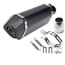 HITSAN <b>36</b>-<b>51mm</b> Black Carbon Fiber Head <b>Modified Motorcycle</b> ...