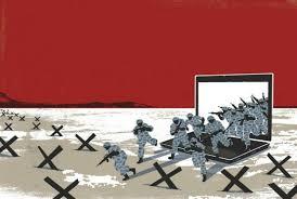 Resultado de imagen de OTAN  PIRATAS INFORMÁTICOS ciberguerra