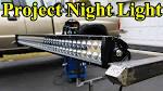 Custom LED Light Bar Build (Part Project Night Light ) -