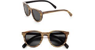 Shwood <b>Belmont</b> Wood Keyhole <b>Sunglasses</b> in Brown for <b>Men</b> - Lyst