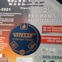 <b>Сковорода Vitesse</b> VS 2221 | Отзывы покупателей
