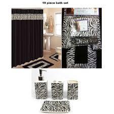 white zebra print curtains black zebra animal print bath rug set black zebra shower curtain amp a