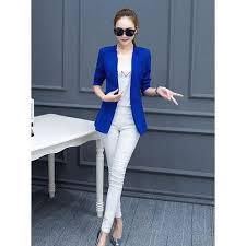 <b>Fashion Autumn new</b> women's long section small suit female Slim ...