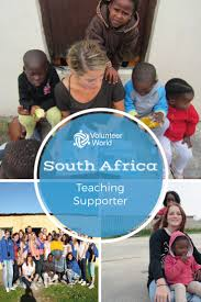 things to do after high school  get involved as a volunteer in south africa and assist in preschool and after school programs