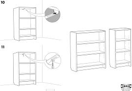 Инструкция Ikea BILLY (4 страницы)