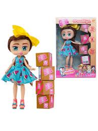 <b>Кукла Boxy Girls</b> Brooklyn 20 см. с аксессуарами 1Toy 6717445 в ...