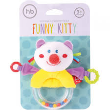 "<b>Happy Baby</b> SOFT Погремушка с <b>пищалкой</b> ""Кот"": 330357***, 449 ..."