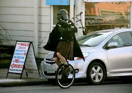 Darth Vader with a Bag-Pipe
