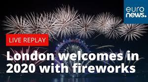 <b>Happy</b> New Year Britain! London welcomes in <b>2020</b> with celebratory ...