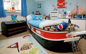 1 bedroom large size teen boy bedroom ideas with ship shaped bed and wall decor plus kids bedroom sets e2 80