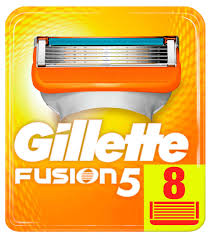 Купить Сменные <b>кассеты</b> для бритья <b>Gillette Fusion</b>, 8 шт с ...