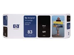 <b>HP 83</b> 680-ml <b>Black DesignJet</b> UV Ink Cartridge | <b>HP</b>® Caribbean
