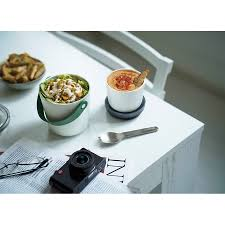 <b>Ланч</b>-<b>бокс Lunch Pot</b> Original оливковый от <b>Black</b>+<b>Blum</b> (арт. BA0 ...