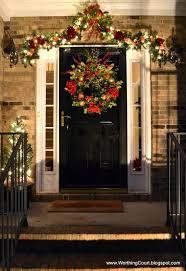 ideas door decorating pinterest christmas