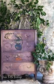 <b>Hand Painted</b> Floral <b>Vintage</b> Dresser | <b>Hand Painted Vintage</b> ...