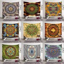 <b>Bohemian Mandala</b> Tapestry Hippie Floral <b>Flower Wall</b> Hanging ...