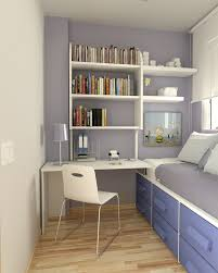 amazing space saving kids bedroom ideas featuring white painted wooden bookshelves built in study desk connected built in study furniture
