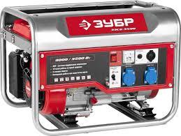 Купить <b>Бензиновый генератор ЗУБР ЗЭСБ</b>-<b>3500</b>, 220 В, 3.5кВт в ...