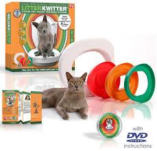 Система приучения кошки к туалету <b>Litter Kwitter</b> - купить в ...