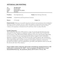 Best Photos of Resume For Internal Job Posting   Internal Job     LiveCareer How To Write An Internal Job Application Letter Cover  Letter Samples Templates