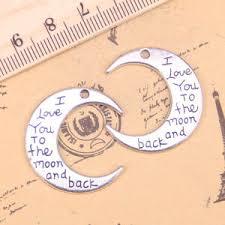 Выгодная цена на <b>love you</b> to the moon and back charms pendant ...