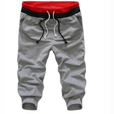 Best Offers for <b>men</b> short pants <b>casual loose</b> fashion solid list and ...