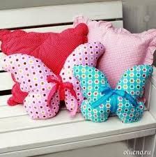 подушки своими руками, поделки из ткани, декор для дома ...