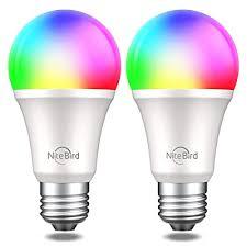 Buy Smart <b>Light Bulb</b> Works with Alexa Google Home, <b>NiteBird</b> A19 ...